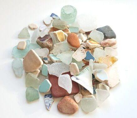Seaglass and Sea Pottery
