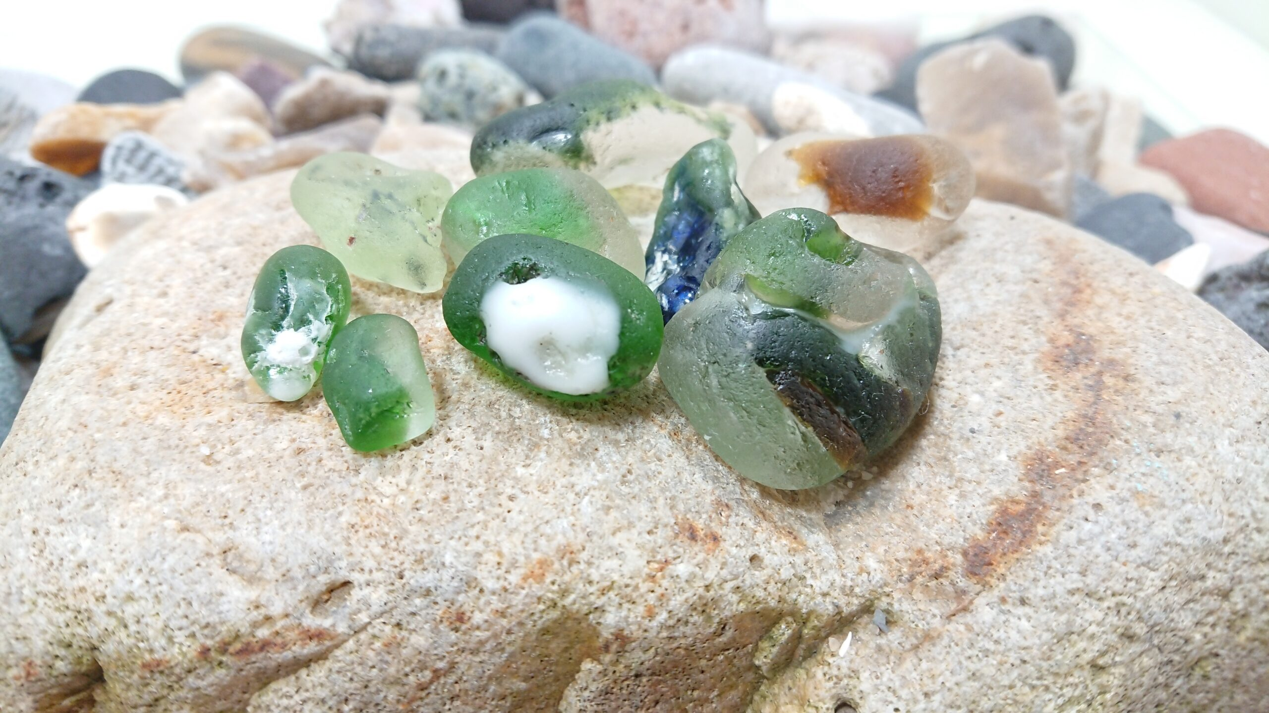 Bonfire Seaglass