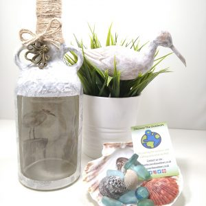 Seagull Beach Theme Light Bottle