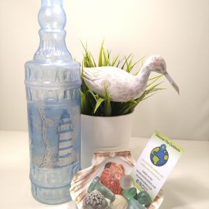 Blue Beach Theme Light Bottle