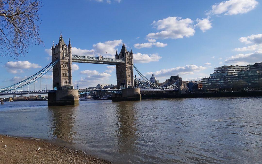 Beachcombing On The Thames